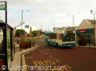 Spennymore: town centre improvements included the enhancement of the main bus stops, including shelters and real time information