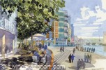 The Sirocco site site on the sunniest bank of the Lagan. An artists impression of how it could look.
