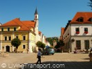 Shared space crossroads - Kelheim, Bavaria