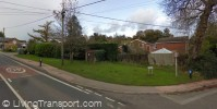 Cyclists have no provision across the side road (taken 2008) - © Google 2011
