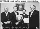 The award ceremony (from IHT Journal, January 1992)