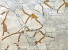 Ribbon development in Thanet (Kent) successfuly blocked by Planning process 1947-1963 (detail)