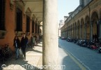 Bologna arcades protect winter and summer - study visit 2001