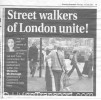 Feature article headline from London